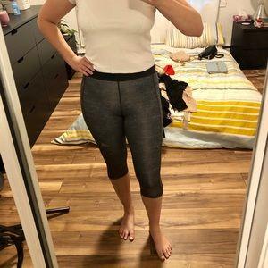 Adidas yoga or sport leggings in grey mix
